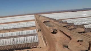 La planta solar grande como una ciudad que dará energía a un millón de hogares
