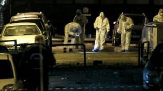एथेंस में धमाका