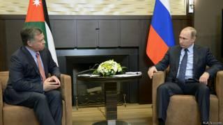 Путин и король Абдалла