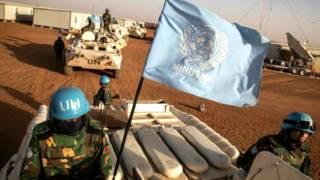 Sojin kiyaye zaman lafiya na Majalisar Dinkin Duniya a Mali
