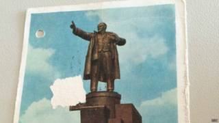 Открытки с Лениным