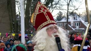 Святой Николай на празднике