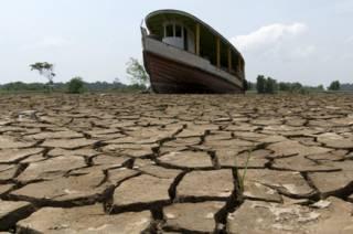 Sequía en Brasil