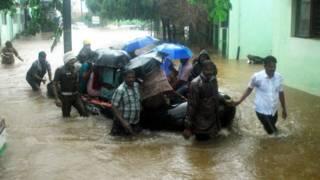 चेन्नई में बारिश