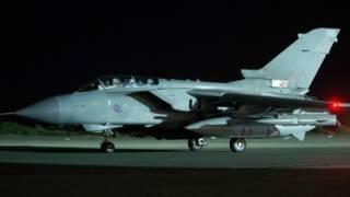 Aviones Tornado de la RAF