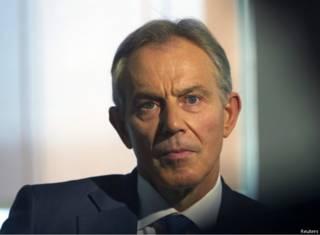 Бывший британский премьер Тони Блэр