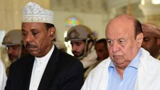 Джафар Саад и Абд-Раббу Мансур Хади