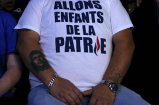 Сторонник Национального фронта во Франции