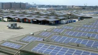 इटली, बोलोनिया, सौर ऊर्जा