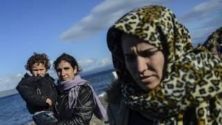 Migrantes en el mediterraneo