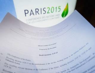 Проект соглашения по борьбе с изменением климата