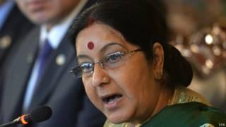 विदेश मंत्री सुषमा स्वराज.