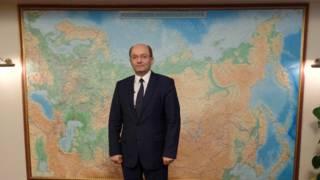 俄罗斯铁路公司副总裁米沙林(摄影:子川)