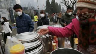 Pedagang makanan di Beijing