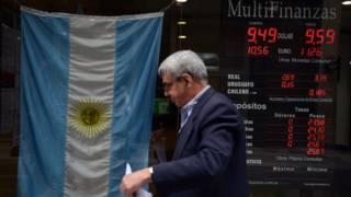 Casa de cambio en Argentina