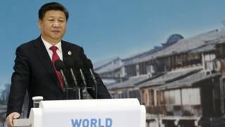 中国国家主席习近平在互联网大会上发言