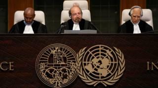 Jueces dela Corte Internacional de Justicia de La Haya