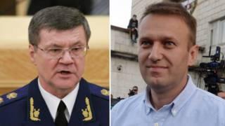 Юрий Чайка и Алексей Навальный