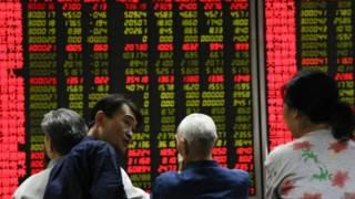سوق المال الصينية