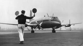 Avión modelo Vickers Viscount