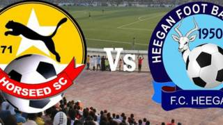 La télévision nationale a diffusé  en direct pour la première fois  un match  comptant pour le championnat somalien.