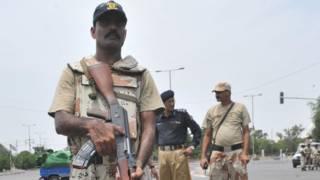 کراچی میں رینجرز کا ایک اہلکار