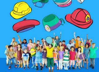 Niños soñando con su trabajo ideal