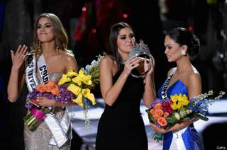 El error de Miss Universo 2015 y otras meteduras de pata en concursos de belleza