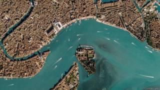 Венеция из космоса