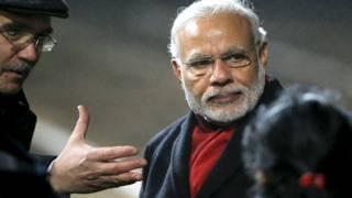 मॉस्को में प्रधानमंत्री नरेंद्र मोदी