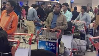 दुबई से स्वदेश वापसी को तैयार भारतीय मज़दूर