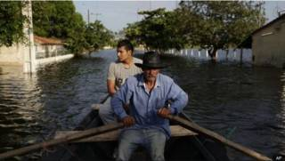Наводнение в Парагвае