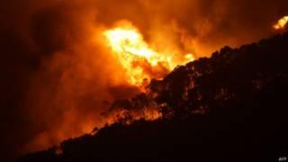 ऑस्ट्रेलिया में आग
