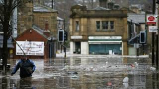 Наводнение в Хебден Бридж
