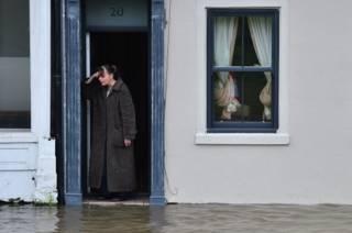Затопленная улица Йорка