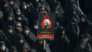 Демонстрация протеста в Иране