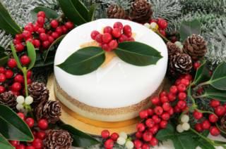 Рождественский пирог.