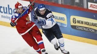 Финал Россия-Финляндия молодёжного чемпионата мира по хоккею