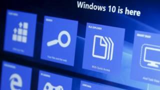 Microsoft Windows 10, screen