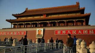 北京天安门城楼(资料照片)