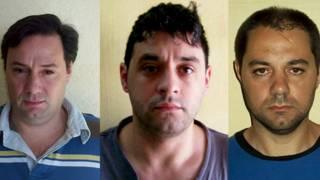 Martín, Cristian Lanatta, Víctor Schillaci