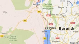 Akarere ka Kivu y'epfo gahana urubibe n'u Burundi