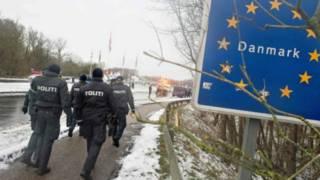 Пограничный контроль в Дании