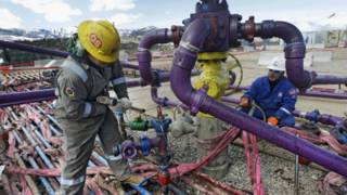 Trabajadores petroleros