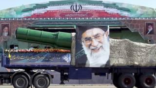 इरानमाथि प्रतिवन्धहरु
