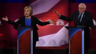 Клинтон и Сандерс