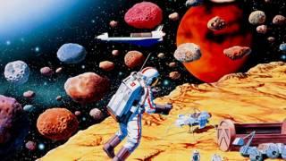 Разведка на астероиде