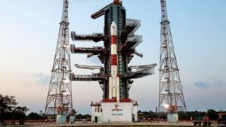 इसरो का पीएसएलवी रॉकेट.