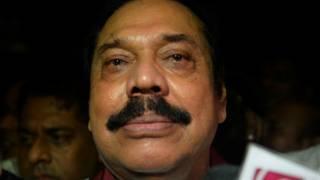Бывший президент Шри Ланки Махинда Раджапаксе