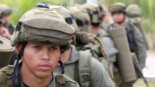 Policía de fuerzas especiales de Colombia